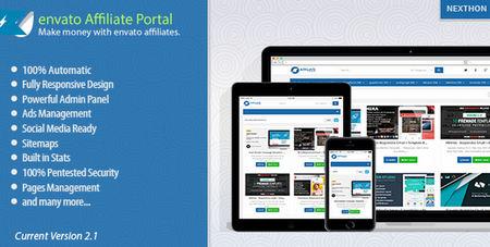 اسکریپت راه اندازی فروشگاه اسکریپت و قالب Affiliate Portal نسخه 2.4