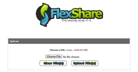 اسکریپت آپلود سنتر FlexShare