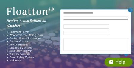 ساخت فرم های پاپ آپ با افزونه Floatton