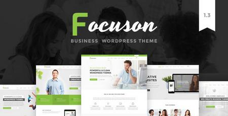 پوسته شرکتی و کسب و کار Focuson برای وردپرس