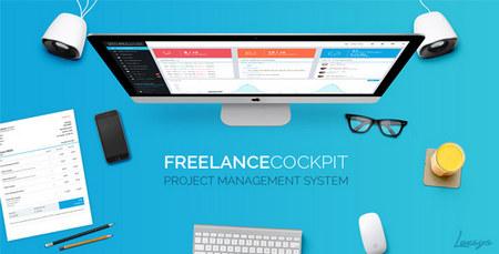 اسکریپت مدیریت پروژه Freelance Cockpit 2 نسخه 2.4.2