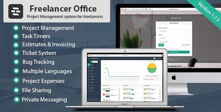 اسکریپت ارتباط با مشتری و مدیریت پروژه Freelancer Office نسخه ۱٫۷٫۵