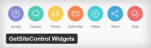 افزونه وردپرس ابزارهای کاربردی GetSiteControl Widgets