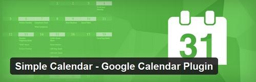 افزونه ایجاد تقویم در وردپرس Google Calendar Plugin