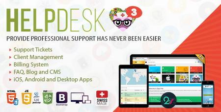 اسکریپت پشتیبانی به صورت تیکتینگ HelpDesk 3
