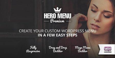 ساخت منو های حرفه ای در وردپرس با افزونه Hero Menu