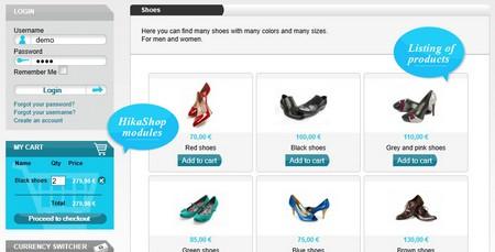 افزونه فروشگاه ساز حرفه ای جوملا HikaShop Business