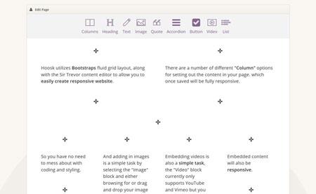 اسکریپت سیستم مدیریت محتوای رایگان Hoosk