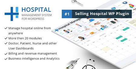 افزونه وردپرس مدیریت بیمارستان Hospital Management