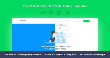 دانلود قالب هاستینگ Hostino نسخه HTML و WHMCS