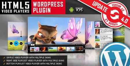 افزونه پخش ویدئو در وردپرس HTML5 Video Player