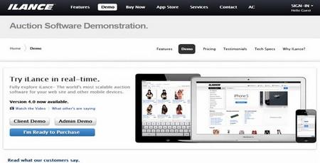 اسکریپت حراجی و مزایده آنلاین iLance فارسی نسخه 4.0.0