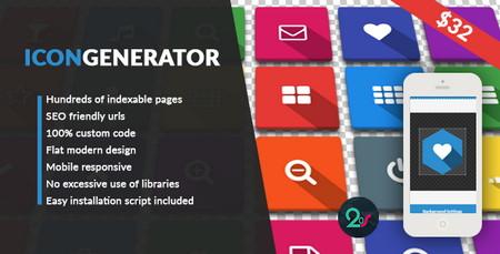 اسکریپت آیکون ساز پیشرفه Icon Generator