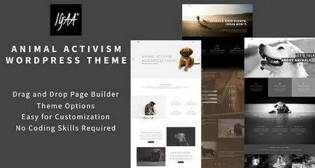 دانلود قالب حمایت از حیوانات Igaa برای وردپرس