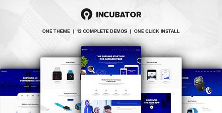 دانلود پوسته شرکتی و استارت آپ Incubator برای وردپرس