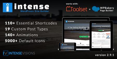 افزونه صفحه ساز پیشرفته وردپرس Intense نسخه 2.9.1