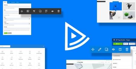 افزونه صفحه ساز جوملا SP Page Builder Pro