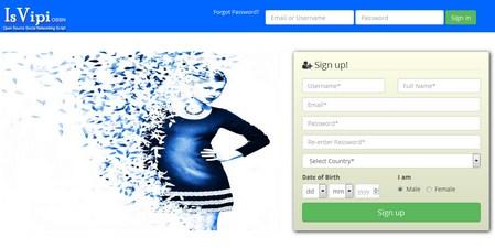 اسکریپت راه اندازی جامعه مجازی IsVippi