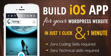 ایجاد نسخه موبایل وب سایت وردپرسی برای IOS با افزونه iWappPress