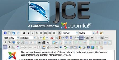 افزونه ویرایشگر حرفه ای محتوا برای جوملا JCE Pro