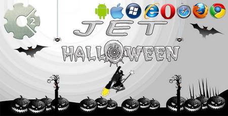 اسکریپت بازی آنلاین جت هالووین Jet Halloween به صورت HTML5