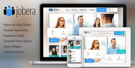 پوسته پرتال استخدام Jobera نسخه ۳٫۱ برای وردپرس