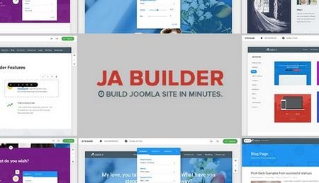 افزونه صفحه ساز پیشرفته جوملا JA Builder PRO