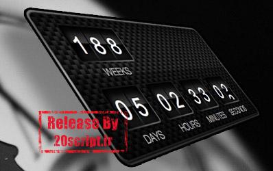 افزونه شمارشگر فارسی t countdown برای وردپرس