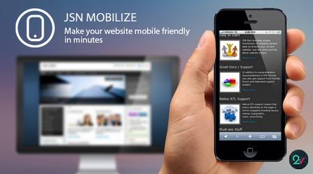 افزونه بهینه سازی سایت جوملا برای موبایل و تبلت JSN Mobilize Pro