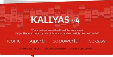دانلود قالب فروشگاهی شرکتی کالیاس Kallyas نسخه 4.0.9 برای وردپرس