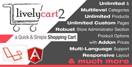 اسکریپت فروشگاه ساز و سبد خرید LivelyCart 2