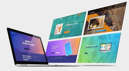 دانلود طرح لایه باز موکاپ Mock Up مک بوک MacBook