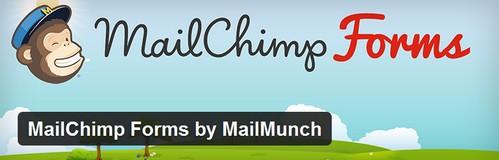 افزونه وردپرس فرم عضویت در خبرنامه MailChimp Forms by MailMunch