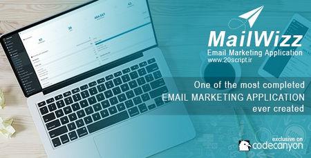 اسکریپت بازاریابی از طریق ایمیل MailWizz نسخه 1.6.5