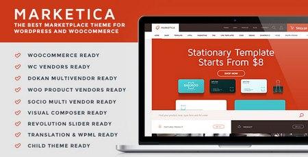 دانلود پوسته فروشگاهی Marketica برای وردپرس