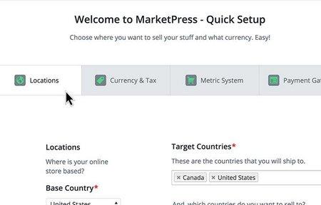 افزونه وردپرس فروشگاه ساز مارکت پرس MarketPress