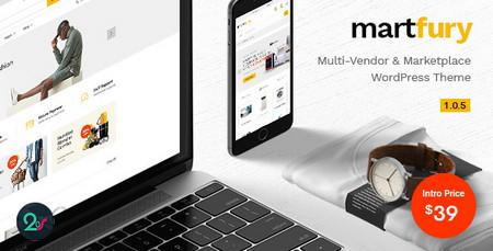 قالب بازارچه محصولات Martfury برای ووکامرس