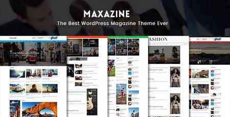 پوسته مجله ای خبری maxazine نسخه ۱٫۰٫۲ برای وردپرس