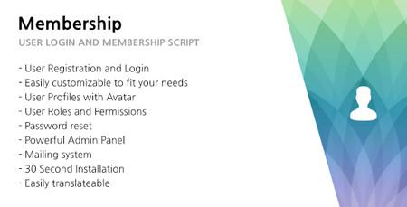 اسکریپت ساخت فرم ورود و عضویت 321 Membership