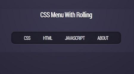 منوی آماده بسیار کاربردی و زیبا به صورت CSS3