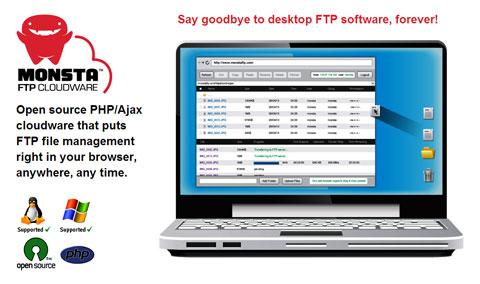 اسکریپت مدیریت فایل ها از طریق FTP با Monsta FTP نسخه 1.7