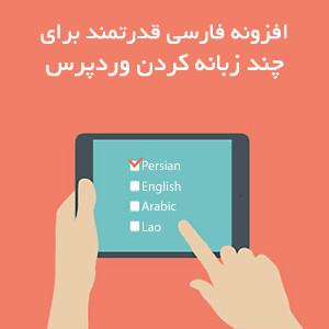 افزونه قدرتمند فارسی برای چندزبانه کردن وردپرس