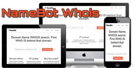 اسکریپت Whois دامنه NameBot نسخه 2.2