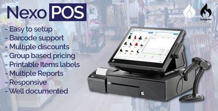 اسکریپت فروشگاه ساز حرفه ای NexoPOS