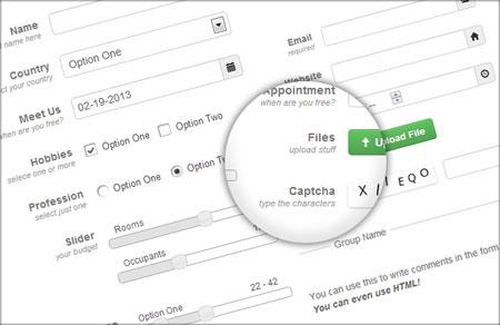 nforms اسکریپت مدیریت و ساخت فرم nForms