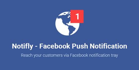 افزونه وردپرس ارسال نوتیفیکیشن به فیسبوک Notifly