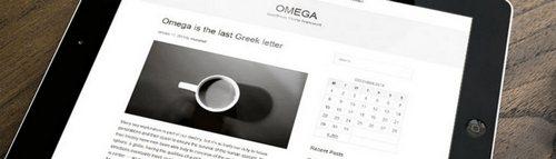 قالب وبلاگی Omega برای وردپرس