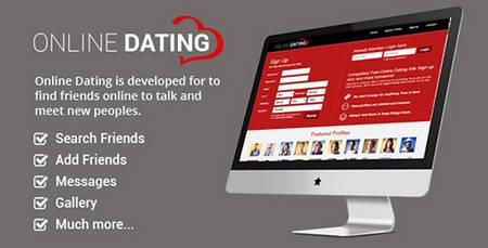 اسکریپت راه اندازی جامعه مجازی Online Dating