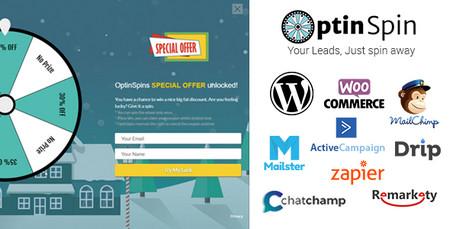 افزونه بازاریابی در وردپرس OptinSpin