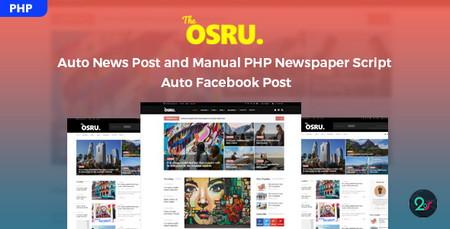 اسکریپت ایجاد مجله خبری آنلاین Osru